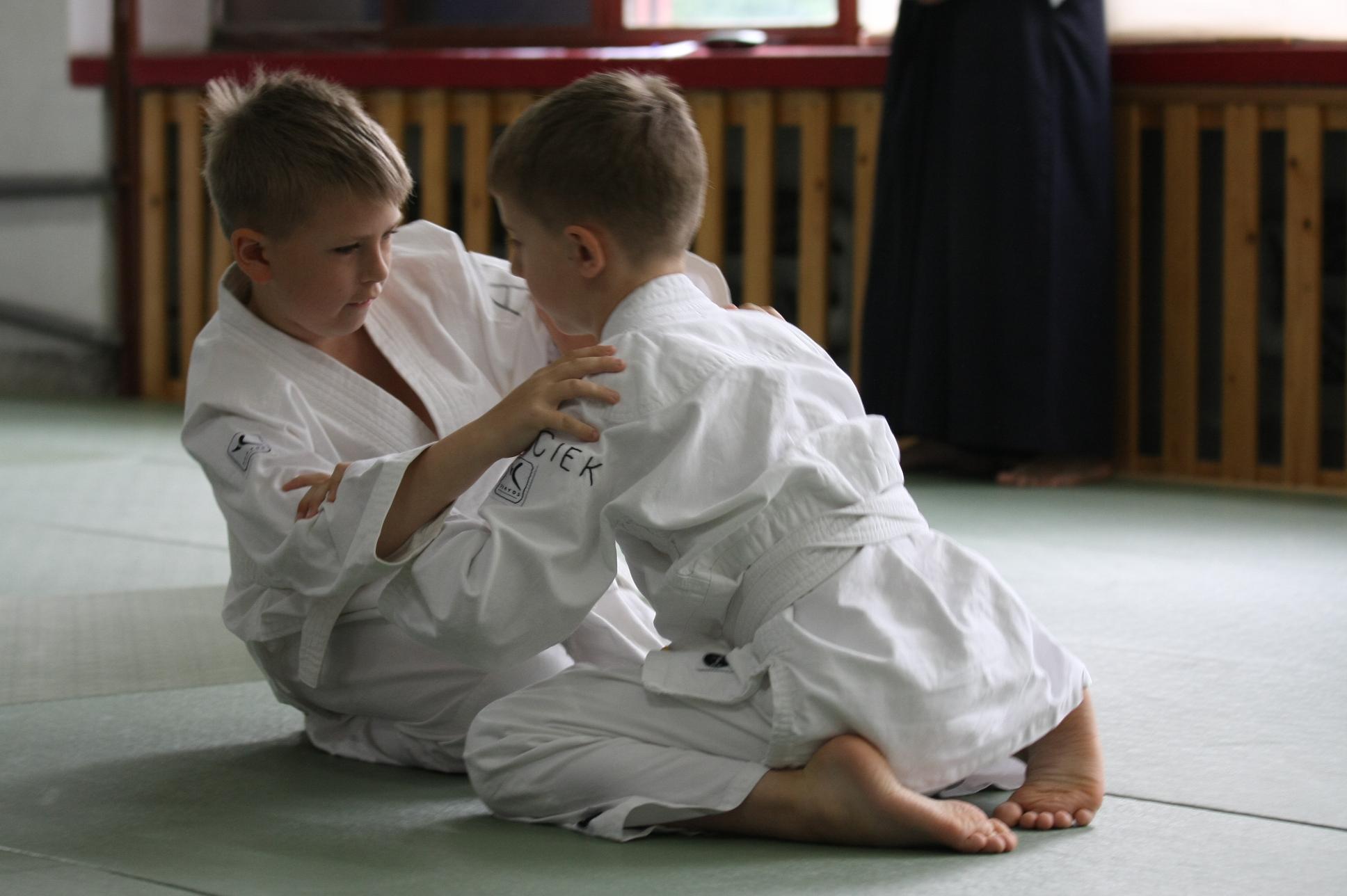 Ćwiczenie Aikido dla dzieci