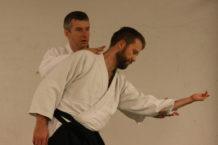 Trening Aikido w Bergen 2013