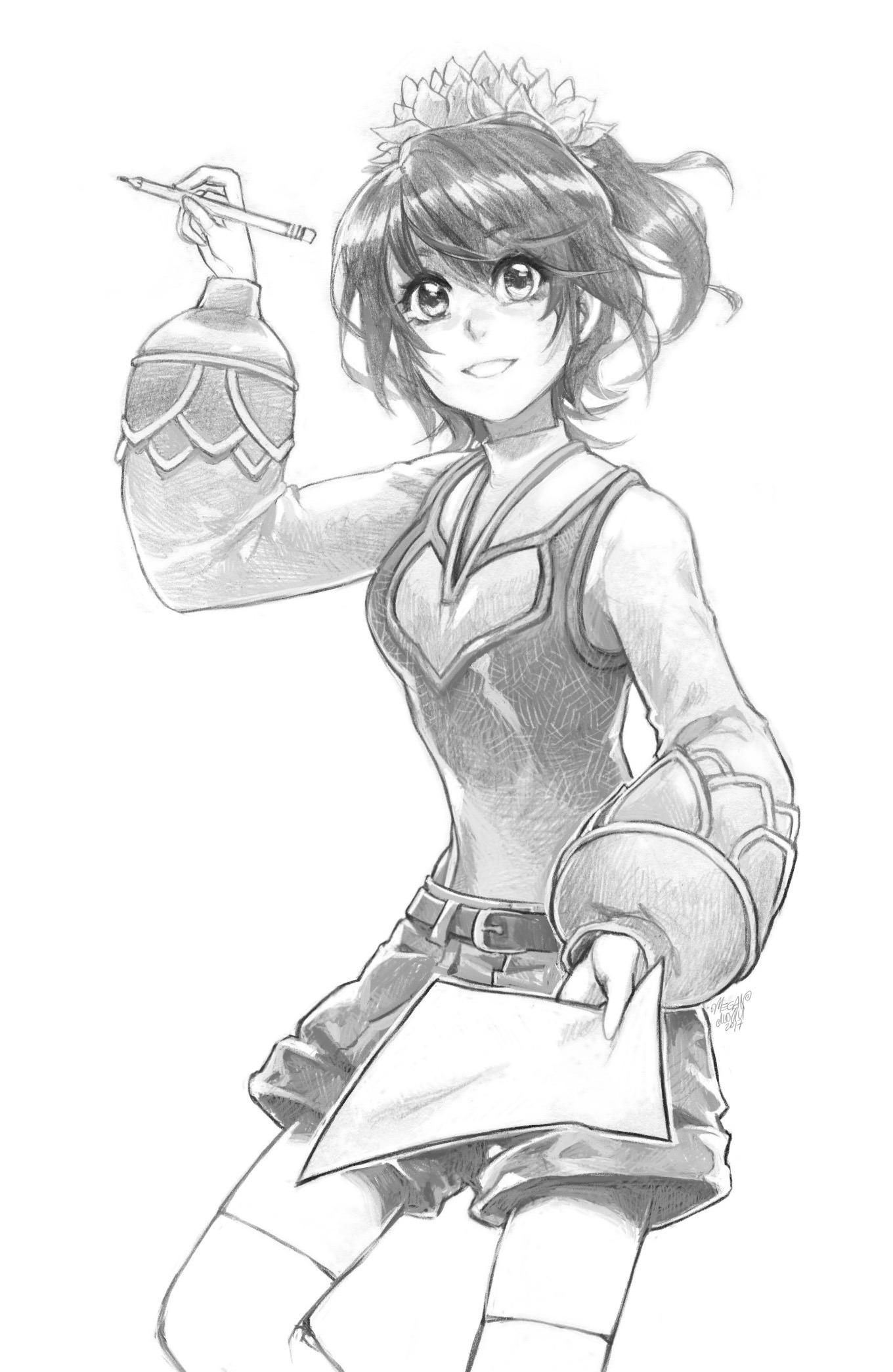 Manga - rysunek